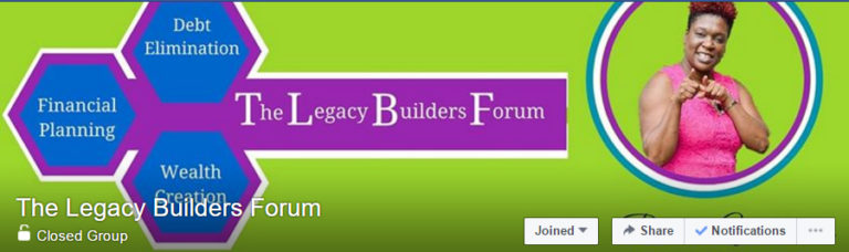 Legacy Builder's Forum on FB